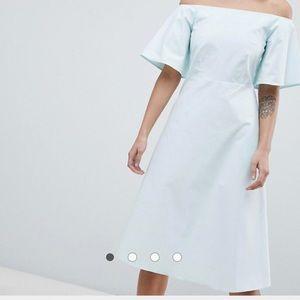 ASOS midi dress size 10